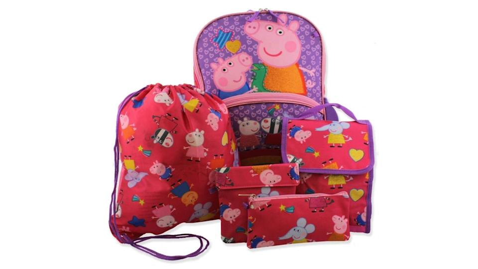This 5-piece set will take them everywhere they need to go!