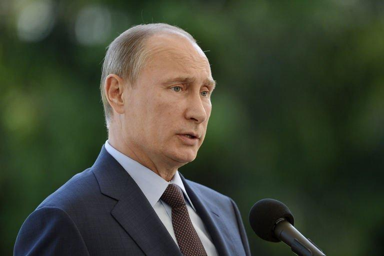 Russian President Vladimir Putin is pictured on June 25, 2013. Putin had on Tuesday described Snowden as a free man but indicated that Moscow was keen to see the back of him