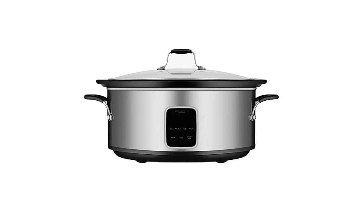John Lewis' own slow cooker is very reasonably priced and easy to use
