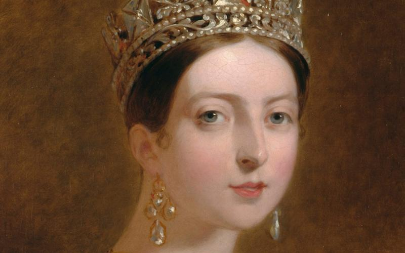 Thomas Scully's portrait of Queen Victoria, 1837-39 - Royal Collection Trust/© Her Majesty Queen Elizabeth II