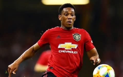 <span>Ole Gunnar Solskjaer has signalled his faith in Anthony Martial</span> <span>Credit: GETTY IMAGES </span>