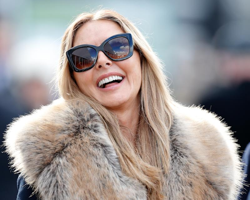 CHELTENHAM, UNITED KINGDOM - MARCH 15: (EMBARGOED FOR PUBLICATION IN UK NEWSPAPERS UNTIL 24 HOURS AFTER CREATE DATE AND TIME) Carol Vorderman attends day 3 'St Patrick's Thursday' of the Cheltenham Festival at Cheltenham Racecourse on March 15, 2018 in Cheltenham, England. (Photo by Max Mumby/Indigo/Getty Images)