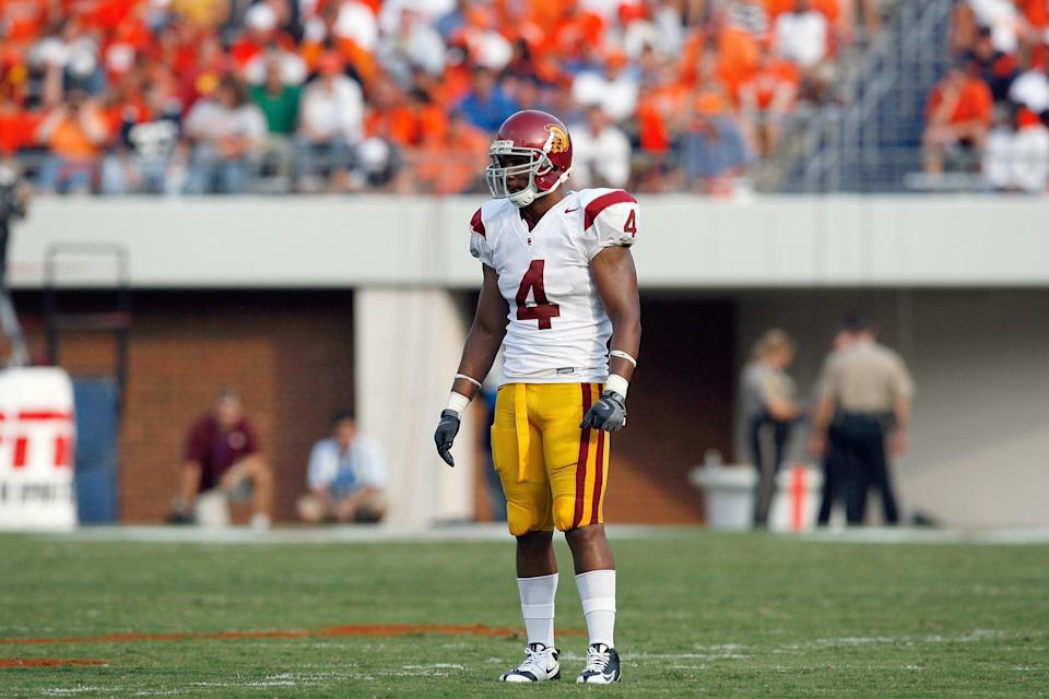 Former safety Kevin Ellison played at USC from 2005-2008. (Getty)