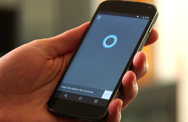 Cortana on android phone