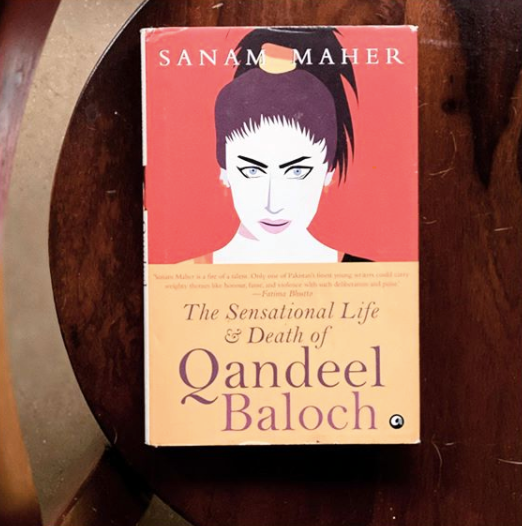 Director Zoya Akhtar posted a picture of the book she has been reading during this lockdown, which is <strong>The Sensational Life and Death of Qandeel Baloch by Sanam Maher.</strong>