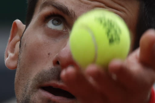 French Open Glance: Djokovic faces lucky loser in 3rd round