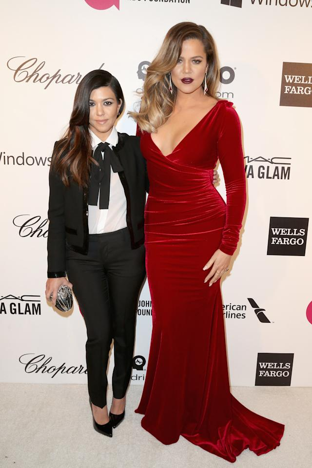 <p><strong>Kourtney and Khloe Kardashian</strong></p>