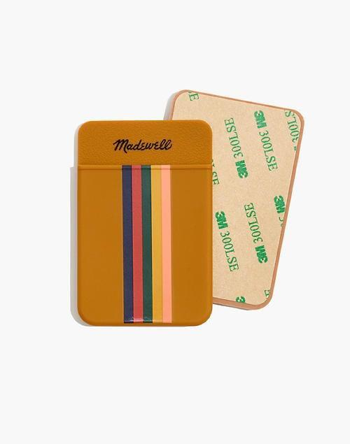 <p>Make carrying cards easy with this cute <span>Silicone Stick-On Phone Wallet</span> ($12).</p>