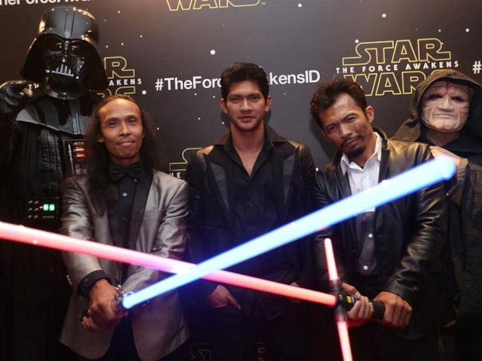 "Yayan Ruhian (L) and Cecep Arif Rahman (R) will both be in ""Jailbreak"" sequel – though, sadly, not Iko Uwais (middle) too."