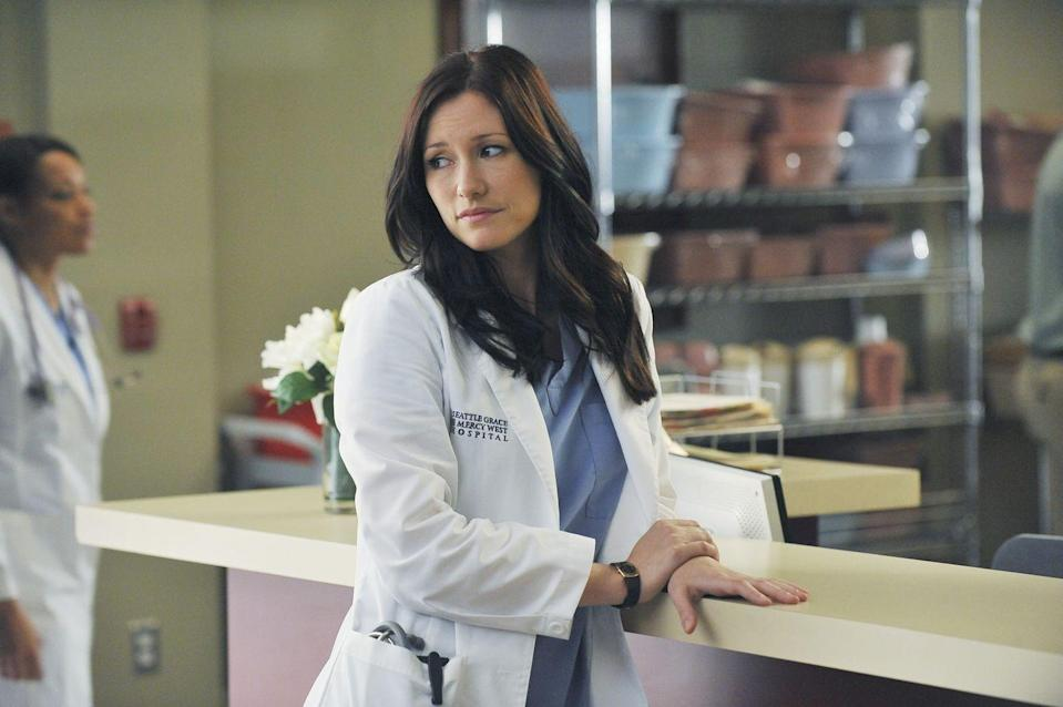 """<p>""""I opted to stay underneath [the wreckage] for the most part over two days rather than trying to get in and out,"""" she <a href=""""http://www.usmagazine.com/entertainment/news/chyler-leigh-opens-up-about-filming-greys-anatomy-death-scene-2012226"""" rel=""""nofollow noopener"""" target=""""_blank"""" data-ylk=""""slk:said"""" class=""""link rapid-noclick-resp"""">said</a>. </p>"""