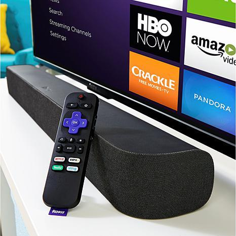 Get the Roku Smart Soundbar for just $160 at QVC. That's even cheaper than at Roku.com. (Photo: Roku)