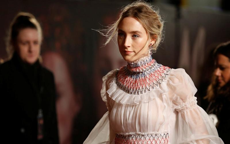 Saoirse Ronan, the Irish actress, is set to play one of the characters in the new film, however it has not been disclosed which one - REUTERS