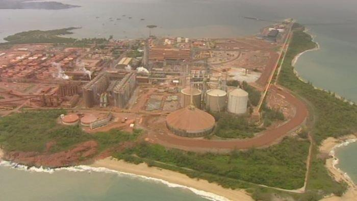 NT agrees to supply Gove refinery with gas