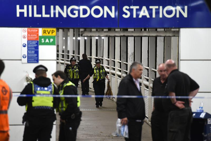 Tashan Daniel died at Hillingdon Station (Picture: PA)