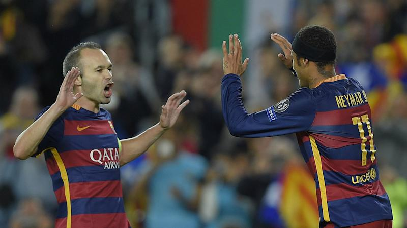 Iniesta doubts PSG star Neymar will make Barcelona return