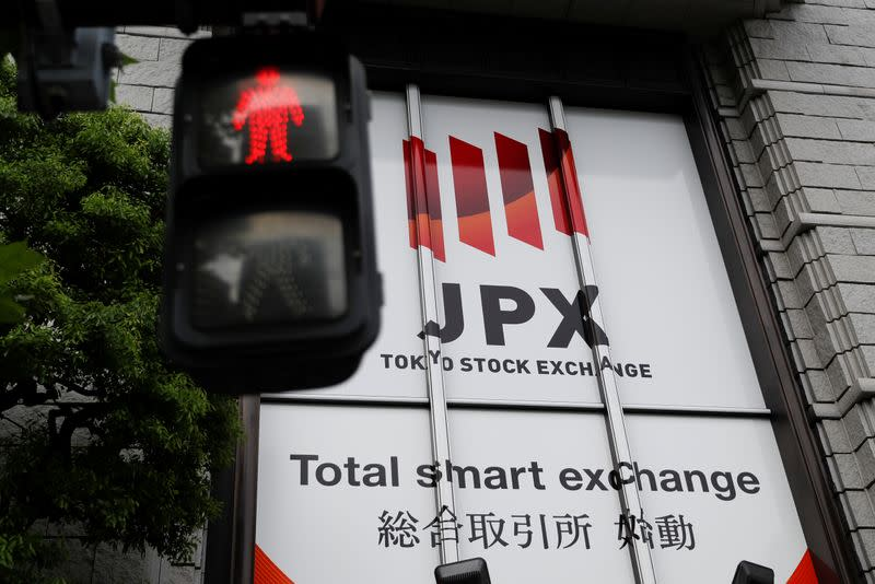 Japan stocks trade halted due to technical glitch; Nikkei futures rise