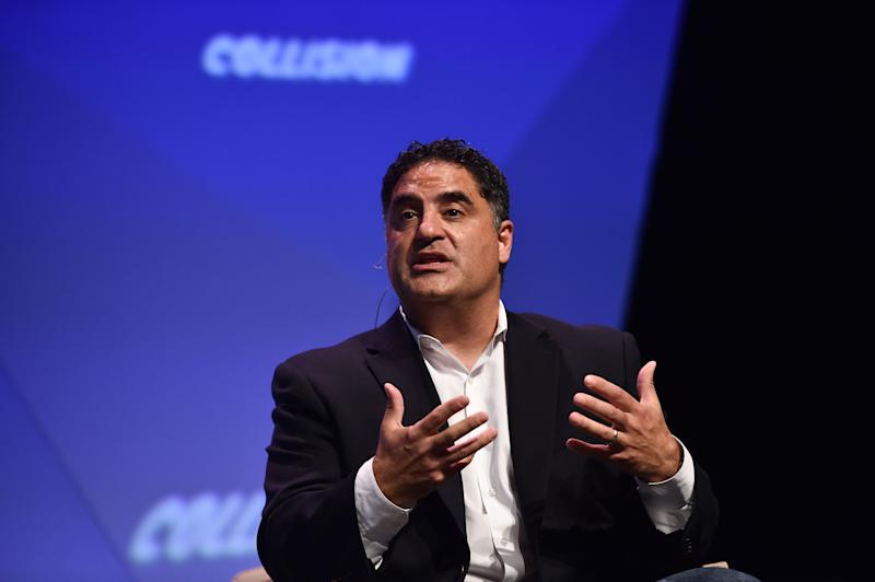 Cenk Uygur, TYT's co-founder and host, told his staff not to join a union. (Photo: Seb Daly via Getty Images)