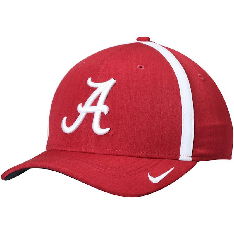 Nike Alabama Crimson Tide Sideline Swoosh Coaches Hat