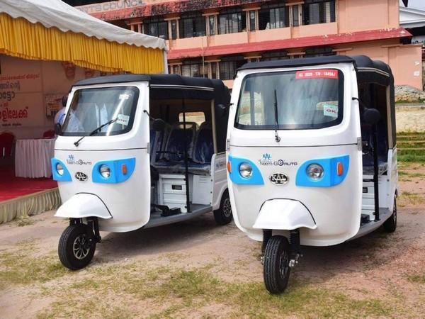 The electric-auto 'Neem G' manufactured by KAL. (Photo/ANI)