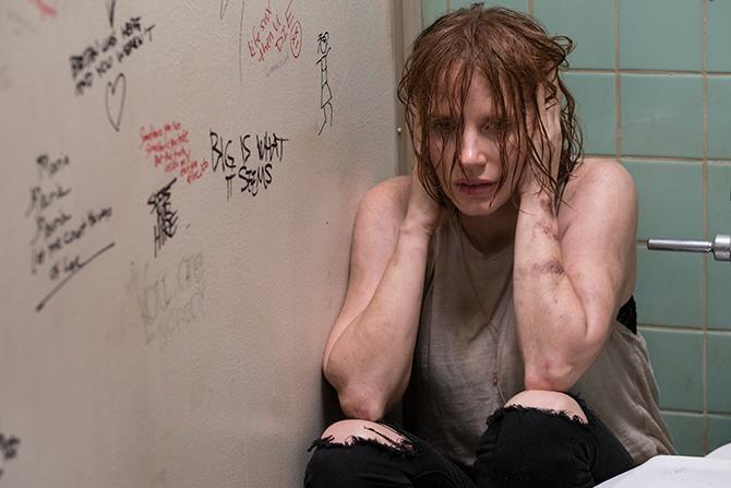 Jessica Chstain como Beverly Marsh en It: Capítulo 2 (Crédito de la foto: Brooke Palmer; Copyright: © 2019 WARNER BROS. ENTERTAINMENT INC.)