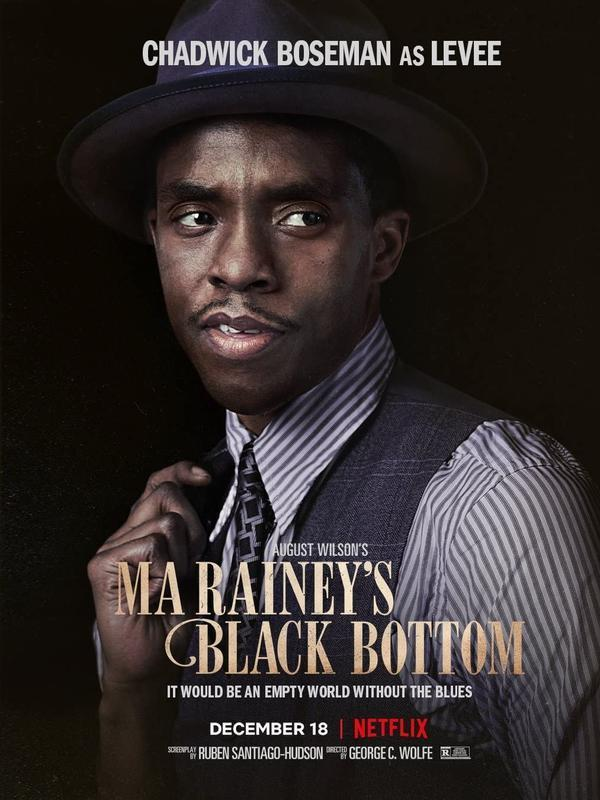 Chadwick Boseman dalam Ma Rainey's Black Bottom. (Foto: Dok. Netflix/ IMDb)