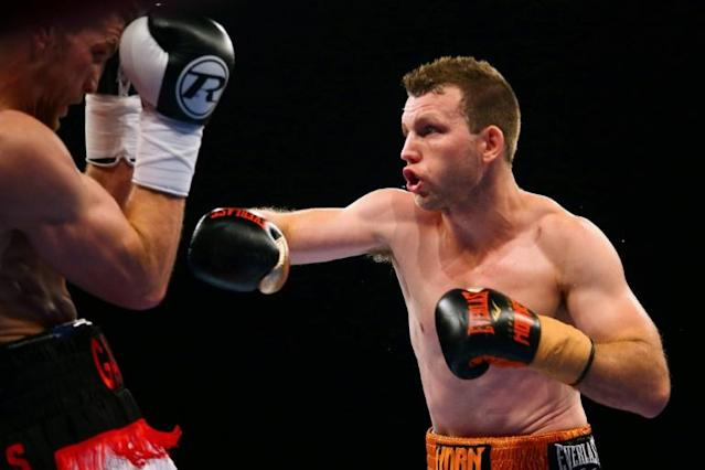 World Boxing Organisation welterweight champion Jeff Horn (R) brushed aside any doubts surrounding a short lead-up to his title defence in Vegas next month against undefeated American Terence Crawford