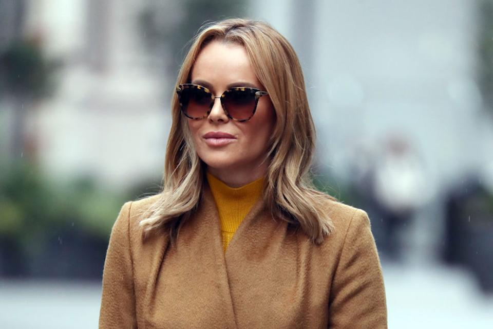 Amanda Holden has shared an image of her Christmas prep to Instagram, pictured here in November 2020. (Getty Images)