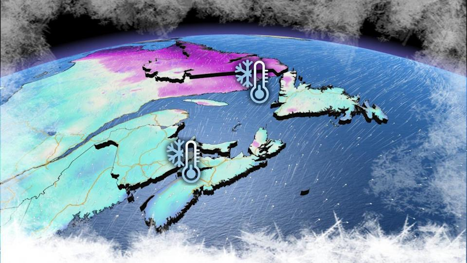 Atlantic: Temperatures to rebound Sunday following record-setting cold