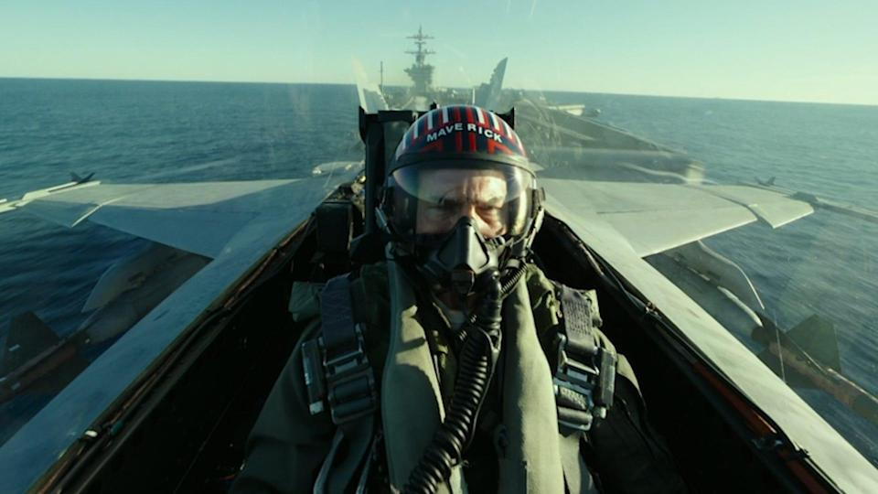 """Tom Cruise returns to mentor a new generation of pilots in """"Top Gun: Maverick."""" Theater owners had hoped the title would drive fans into theaters, but the release has been postponed yet again until 2022."""