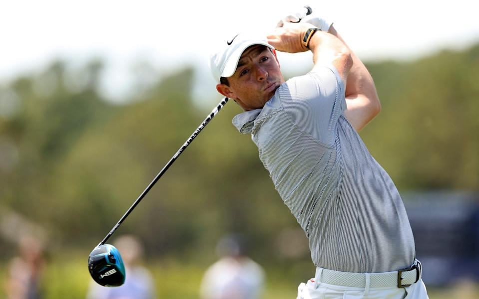 Rory McIlroy starts from hole 10 - GETTY IMAGES