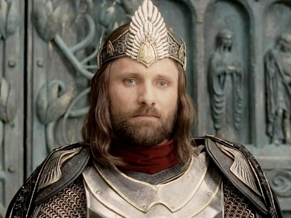 King Aragorn Lord of the Rings Return of the King