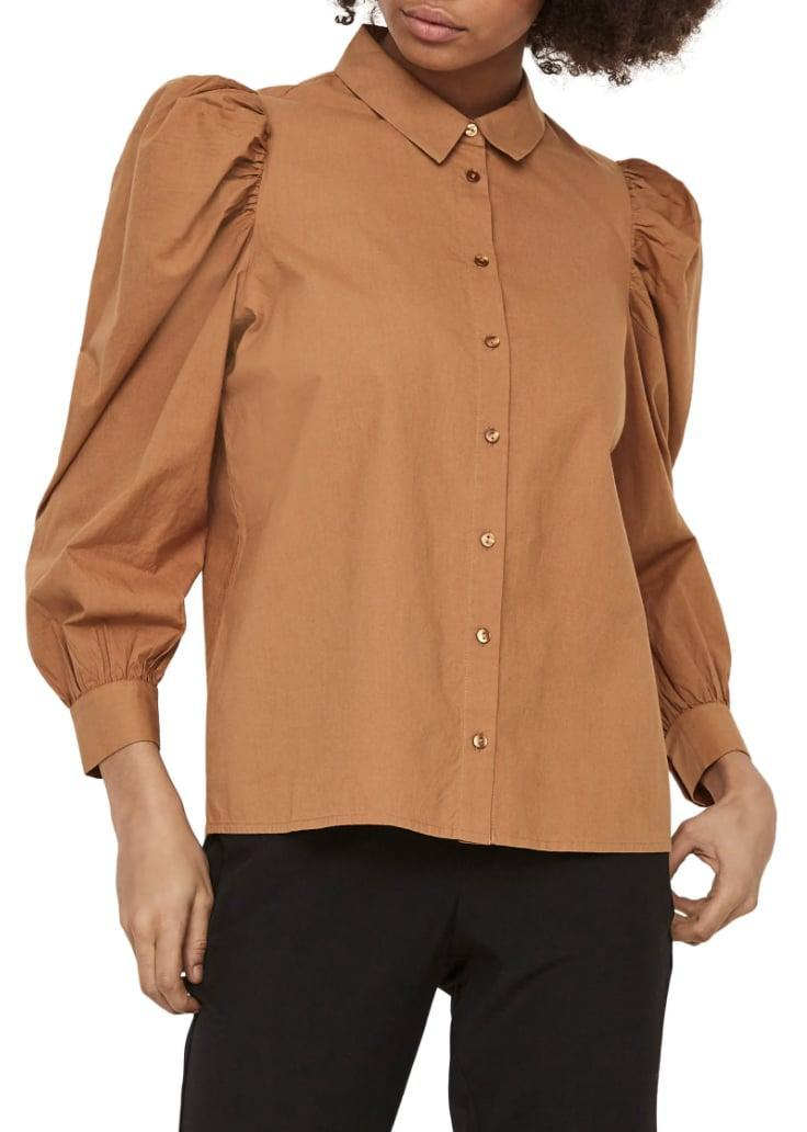 <p>Brighten up any look with this <span>AWARE by Vero Moda Miriam Organic Cotton Blouse</span> ($33, originally $59), which will instantly make you feel more confident.</p>