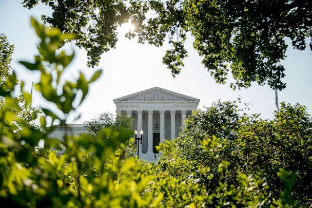 PHOTO: The Supreme Court in Washington, July 8, 2020. (Andrew Harnik/AP, FILE)