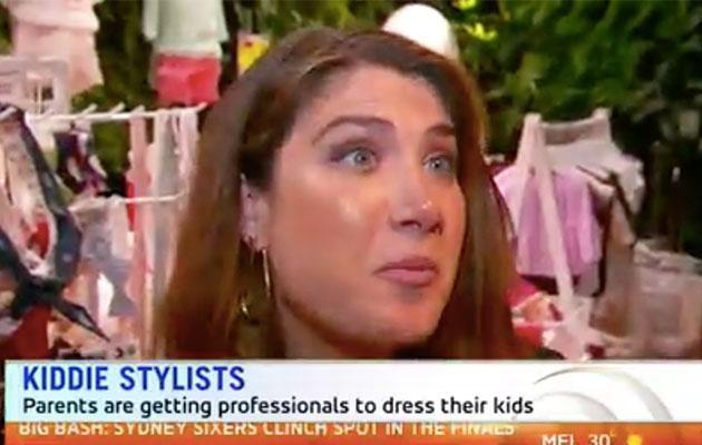 Jordana Silver's new business offers personal styling for tinies. Source: Sunrise