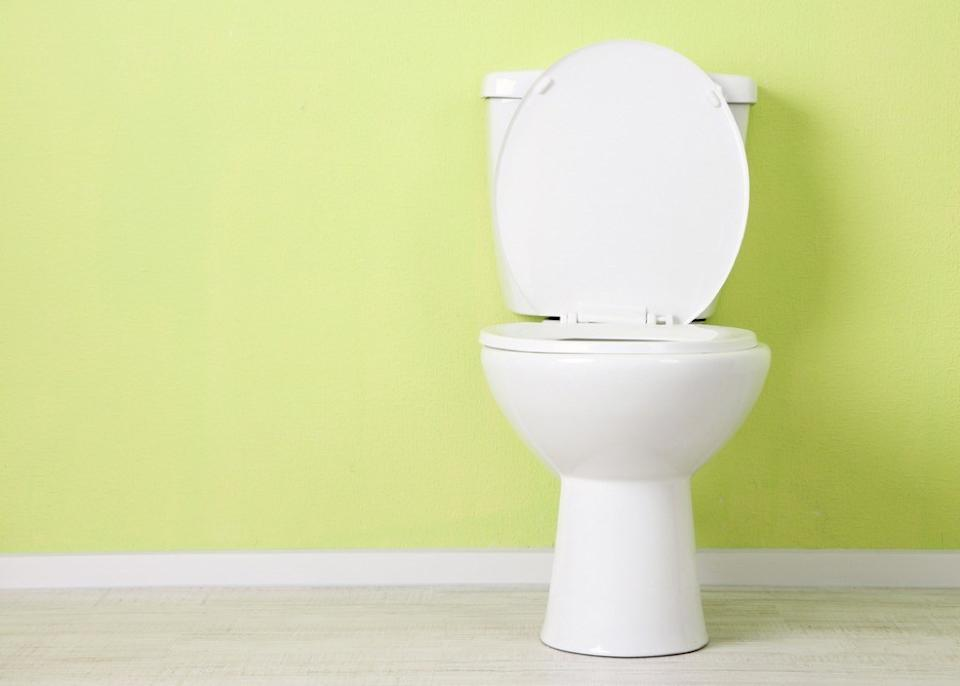 open toilet, old fashioned cleaning tips