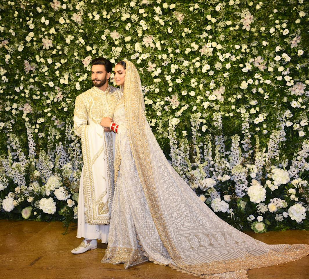 <p>Deepika and Ranveer's Mumbai reception </p>