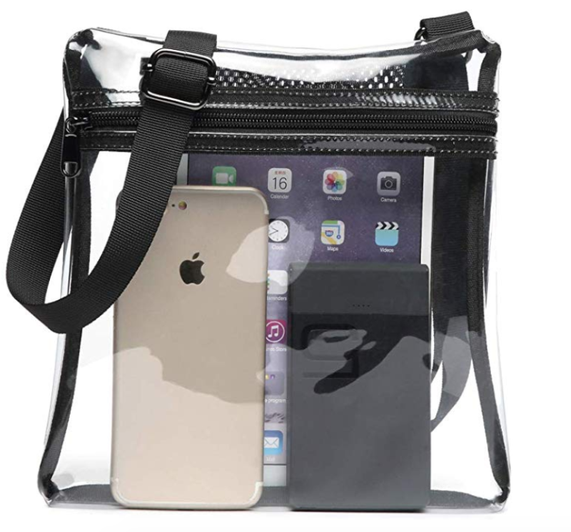 Amazon Fashions Clear Stadium/Arena Bag