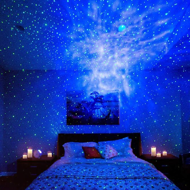 This under $60 laser projector turns your room into a dreamy galaxy