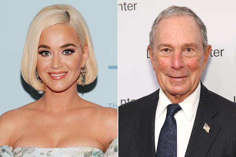 Katy Perry Talked Politics with Mike Bloomberg During Beverly Hills Dinner: Source