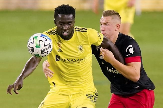 Rios scores first MLS goal, Nashville beats DC United 1-0