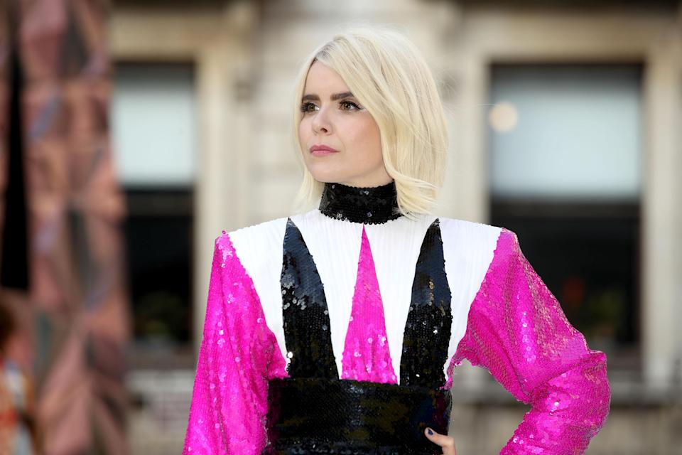 Paloma Faith (pictured at an event in London this summer) wishes she had started a family earlier. [Photo: Getty]