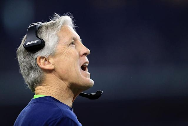 Pete Carroll, not retiring just yet. (Getty)