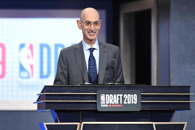 Could NBA commissioner Adam Silver be announcing a 31st first-round draft pick come 2022? (Sarah Stier/Getty Images)