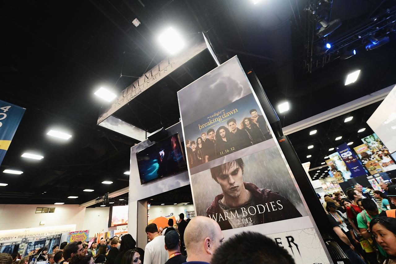 "SAN DIEGO, CA - JULY 12:  A general view of atmosphere at ""The Twilight Saga: Breaking Dawn Part 2"" during Comic-Con International 2012 at San Diego Convention Center on July 12, 2012 in San Diego, California.  (Photo by Michael Buckner/Getty Images for Lionsgate)"