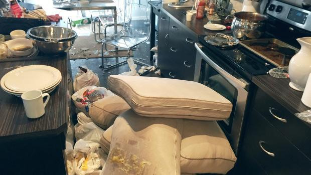 Calgary police want partiers to come forward and name those responsible for damage
