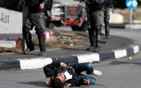 The man later died, according to health authorities - Credit: GORAN TOMASEVIC/REUTERS