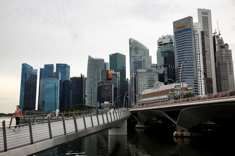 Singapore bank deposits jump as Hong Kong, virus sow uncertainty