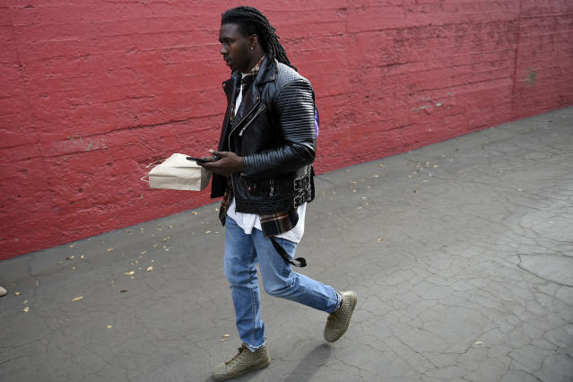 I'm out: WR Sammy Watkins, who spent 2017 with the Rams, has reportedly agreed to a three-year free agent contract with the Kansas City Chiefs. (AP)