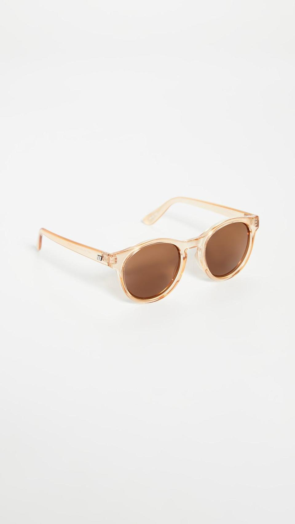 <p>These <span>Le Specs Hey Macarena Polarized Sunglasses</span> ($69) just feel like summer.</p>