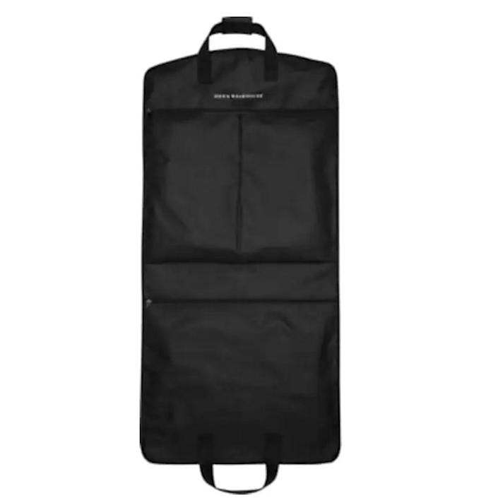 """<p><strong>Men's Wearhouse</strong></p><p>menswearhouse.com</p><p><strong>$31.49</strong></p><p><a href=""""https://go.redirectingat.com?id=74968X1596630&url=https%3A%2F%2Fwww.menswearhouse.com%2Fp%2Fmens-wearhouse-black-garment-bag-big-tall-89P902&sref=https%3A%2F%2Fwww.menshealth.com%2Ftechnology-gear%2Fg19521968%2Fcool-gifts-for-dad%2F"""" rel=""""nofollow noopener"""" target=""""_blank"""" data-ylk=""""slk:BUY IT HERE"""" class=""""link rapid-noclick-resp"""">BUY IT HERE</a></p><p>This might not sound like one of the most thrilling gifts to receive on Father's Day, but it's one of the most useful gift ideas for the guy who's always on the go. Whether he's heading out of town for summer weddings or gearing up for business travels, this durable and lightweight garment bag will protect his most precious suiting, wherever the road takes him. </p>"""